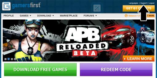 Почему apb reloaded не запускается