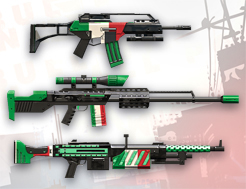 Italy Weapon Skin