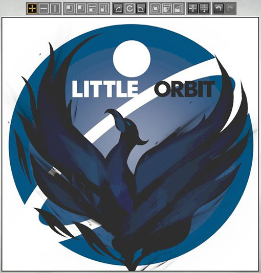 Логотип Little Orbit