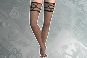 Pentagram Stockings